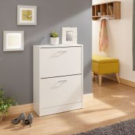See more information about the Stirling Shoe Storage White 2 Door