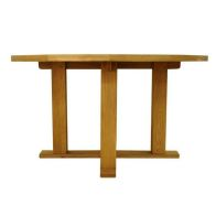 See more information about the Montacute Fixed Top Dining Table Oak 4 Seater