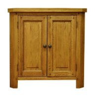 See more information about the Montacute Oak 2 Door Corner Cabinet