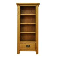 See more information about the Montacute Oak 1 Drawer 4 Shelf CD/DVD Rack