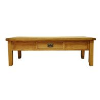 See more information about the Montacute Oak Large 1 Drawer Coffee Table