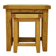See more information about the Montacute Oak 2 Set Nest of Tables