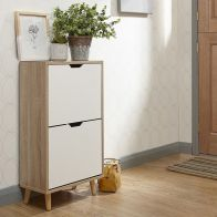 See more information about the Stockholm Shoe Storage White 2 Door