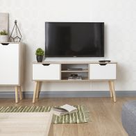 See more information about the Stockholm TV Cabinet - White Oak