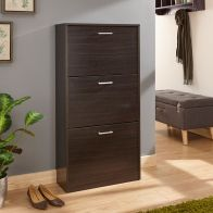 See more information about the Stirling Shoe Storage Espresso 3 Door