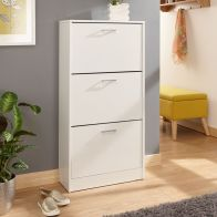 See more information about the Budget Shoe Storage White 3 Door