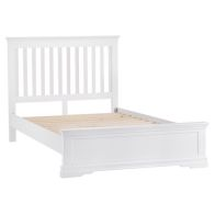 See more information about the Swafield King Size Bed White & Pine