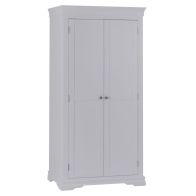 See more information about the Swafield Wardrobe Grey & Pine 2 Door