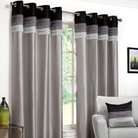 "See more information about the Fusion Seattle Curtains (45"" Width x 54"" Drop) - Black"