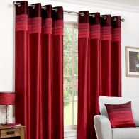 "See more information about the Fusion Seattle Curtains (45"" Width x 54"" Drop) - Red"