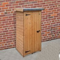 "See more information about the Albany Sheds Half Wallshed 3' x 2'6"" Pent Shiplap Wood Garden Shed"