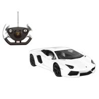 See more information about the Lamborghini Aventador 1/14 Scale Remote Control Toy Car - White