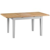 See more information about the Lighthouse Extending Dining Table Grey & Oak 4/6 Seater
