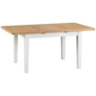 See more information about the Lighthouse Extending Dining Table Oak & White 4/6 Seater