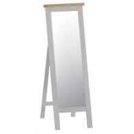 See more information about the Lighthouse Cheval Mirror Grey & Oak