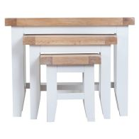 See more information about the Lighthouse Trio Nest of Tables Oak & White