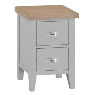 See more information about the Lighthouse Bedside Grey & Oak 2 Drawers