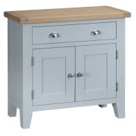 See more information about the Lighthouse Sideboard Grey & Oak 2 Door 1 Drawer