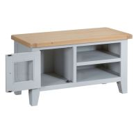 See more information about the Lighthouse TV Unit Grey & Oak 1 Door 2 Shelf