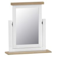 See more information about the Lighthouse Trinket Mirror Oak & White
