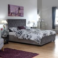 See more information about the Utah King Size Ottoman Bed Grey