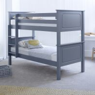 See more information about the Ashley Single Bunk Bed Grey Pine
