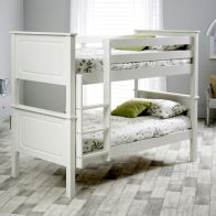 See more information about the Ashley Single Bunk Bed White Pine