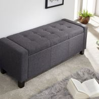 See more information about the Verona Storage Ottoman Charcoal