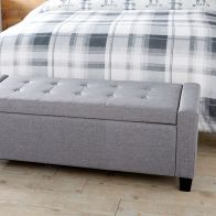 See more information about the Verona Storage Ottoman Grey
