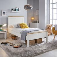 See more information about the Vigo Single Bed White