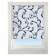 See more information about the Universal 60cm White & Black Virginia Blackout Roller Blind