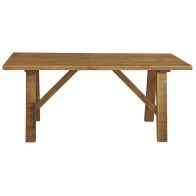 See more information about the Rustic Trestle Table