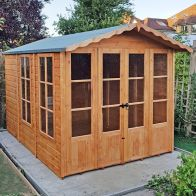 See more information about the Shire Westminster Shiplap Garden Summerhouse 13' x 7'