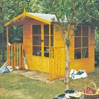 See more information about the Shire Winton Garden Summerhouse & Veranda (8' x 9')