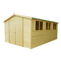 See more information about the Shire Workspace Shiplap Garden Shed 10' x 15'
