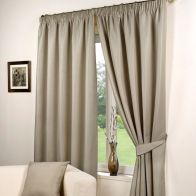 "See more information about the Fusion Waffle Curtains (46"" Width x 54"" Drop) - Taupe"