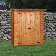 "See more information about the Albany Sheds Wallshed 6' x 2'6"" Pent Shiplap Wood Garden Shed"