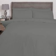 See more information about the Hamilton McBride Single Duvet Cover Charcoal