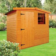 See more information about the Albany Sheds Dart 6' x 4' Apex Shiplap Wood Garden Shed