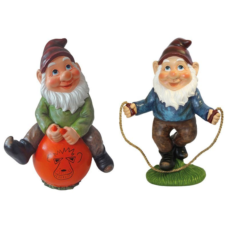 Buy Billy Barry Playtime Garden Gnomes Skipping Spacehopper