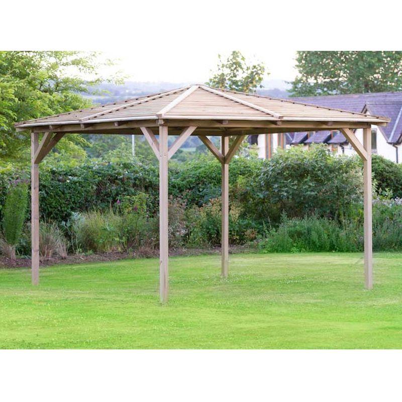 Buy Knutsford Wooden Garden Pavilion 2.4M - Online at ...