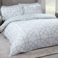 See more information about the Hamilton McBride Milan Single Duvet Cover Grey