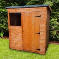 See more information about the Albany Sheds Suffolk 6' x 4' Pent Shiplap Wood Garden Shed