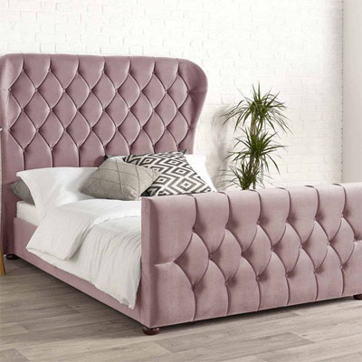Wing Back Bed